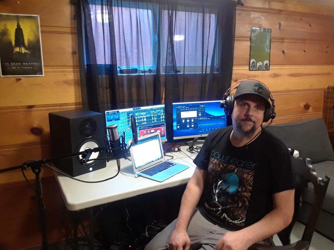 Paul In Studio