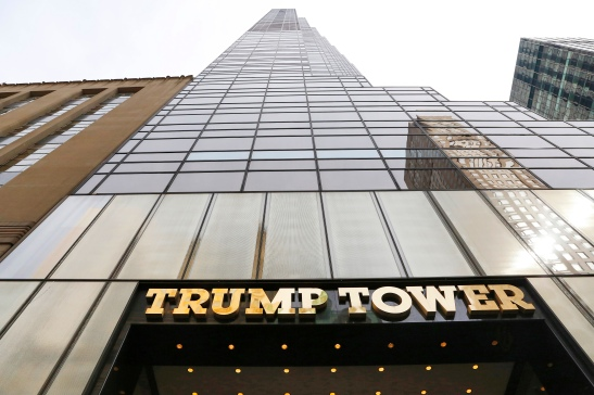 In this March 16, 2016 photo,Trump Tower is shown in New York. The Trump Organization claims in marketing materials that the building is 68 stories tall. But outside groups and city records list Trump Tower at 58 stories. Experts say developers often inflate the floor count of their buildings for marketing purposes.(AP Photo/Mark Lennihan)